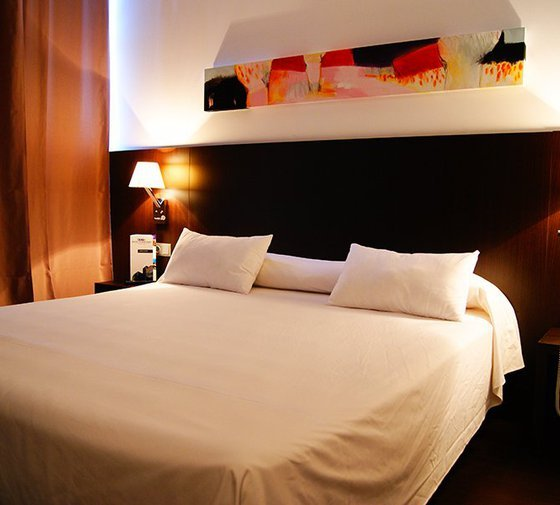 The Hotel Sercotel Plana Parc hotel has double rooms, for ...