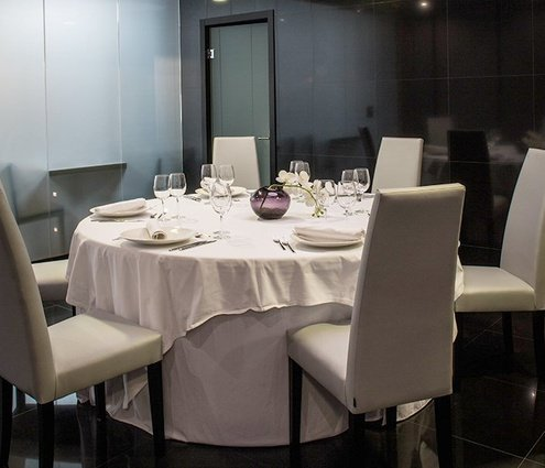 A small space reserved for more intimate meetings or celebrations ...