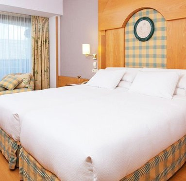 Completely equipped double room