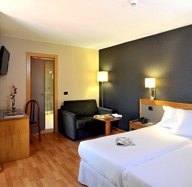 Comfort and space are characteristic of our rooms
