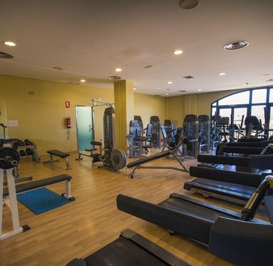 Get fit in our fully equipped gym.