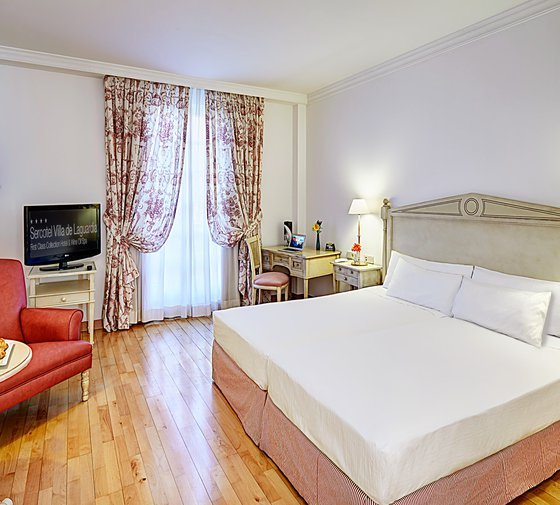 The Sercotel Villa de Laguardia Hotel has 61 standard rooms ...