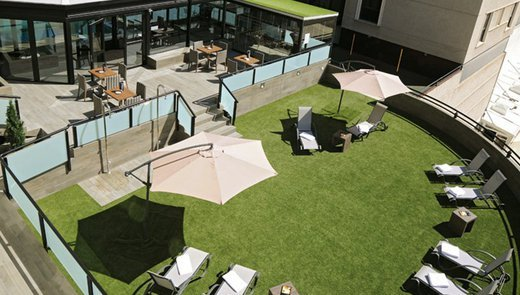 Fantastic roof terrace to enjoy outdoors