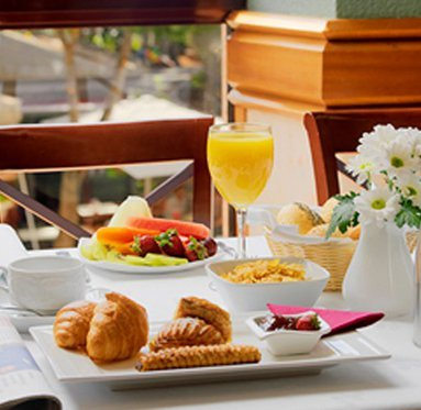 Start your day trying our wonderful breakfast