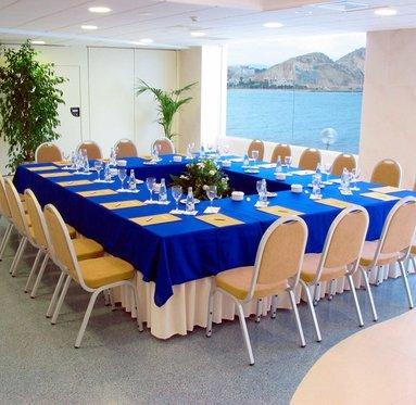 The Sercotel Spa Porta Maris has different function rooms for ...
