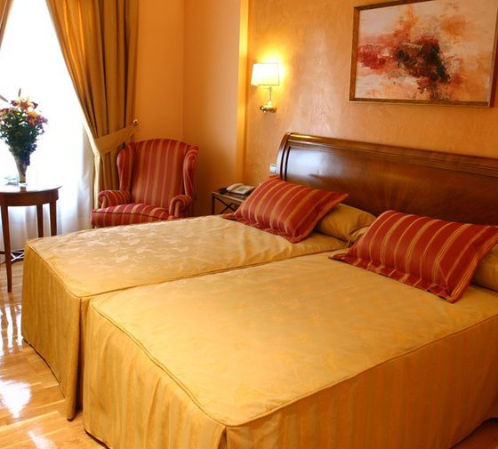 The hotel Guadiana Ciudad Real also offers triple rooms, which ...