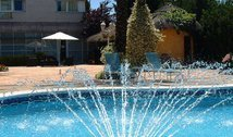 Pool set for further relaxation in your stay at the ...