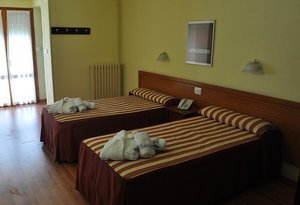 The Sercotel Hotel Balneario Serón offers family rooms that are ...