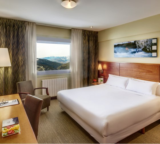 Experience our  rooms with scenic views  at the Sercotel Hotel ...