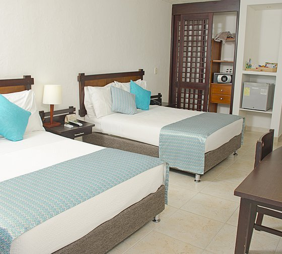 Tamacá Beach Resort Hotel by Sercotel offers spacious superior  rooms ...