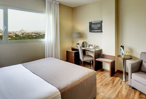 The Executive Rooms of the Sercotel JC1 Murcia are located ...