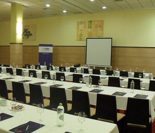 Wide function room equipped with audio-visual material and WiFi. It ...