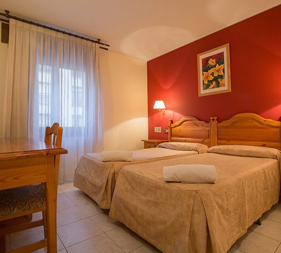 The Sercotel Encamp Hotel has 27 double rooms with two ...
