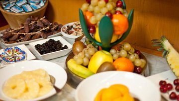 We offer a varied breakfast buffet in your stay in ...
