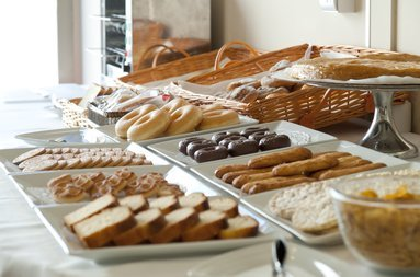 We have a breakfast buffet to help you find what ...