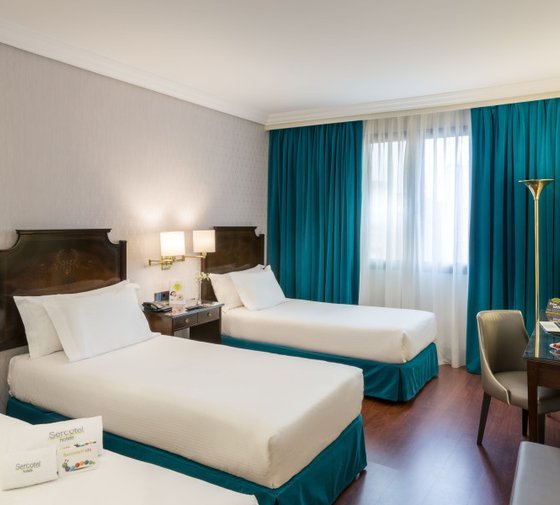The Sercotel Gran Hotel Conde Duque offer you 15 double ...