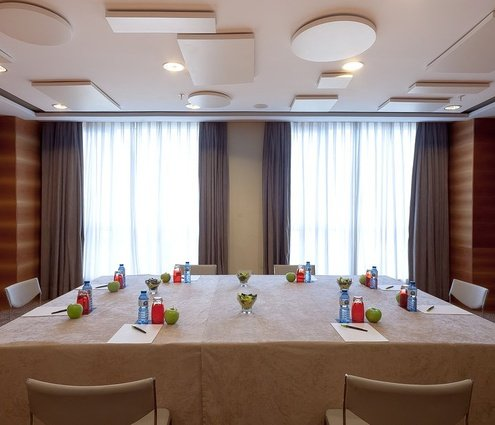 This room is created by combining two function rooms: the ...
