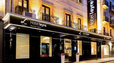 The Sercotel Leyre Hotel is a comfortable hotel in Pamplona ready to offer you a lovely stay in the city. The hotel is located in the centre of Pamplona, next to the bus station and very near the 'Gayarre' Theatre and the convention centre