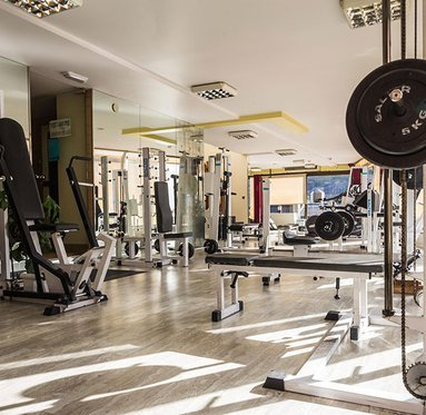 The Cérvol Hotel has a fitness area and spa where ...