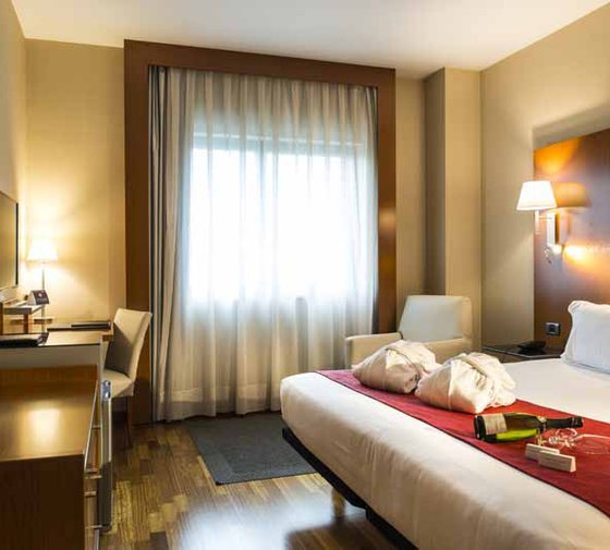 Sercotel AB Rivas has 4 superior double rooms of 22 ...