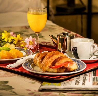 Enjoy a varied breakfast in our hotel in Cordoba