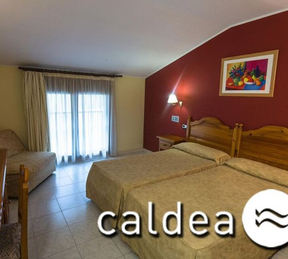 The Sercotel Encamp Hotel offers rooms with entrance to Caldea ...