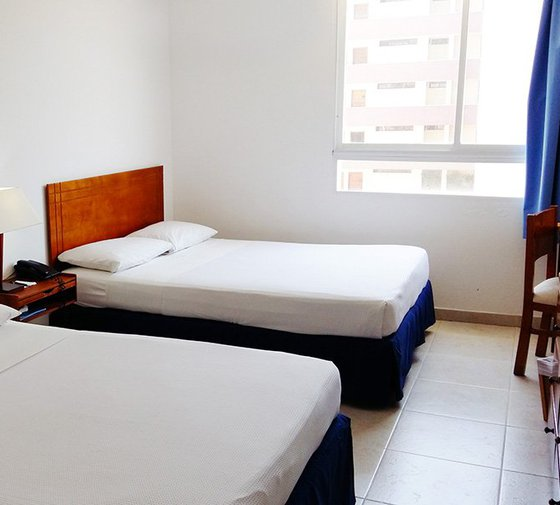 The Tamacá Torre Norte Hotel by Sercotel offers  standard rooms ...