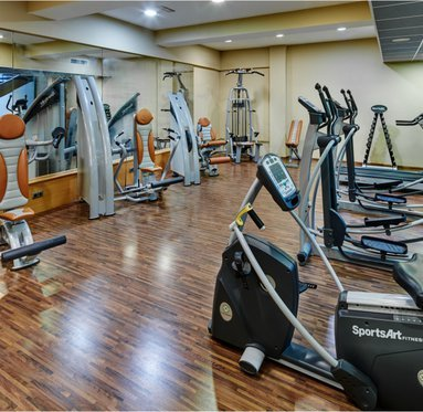 Enjoy our gym and spend a healthy and fun time