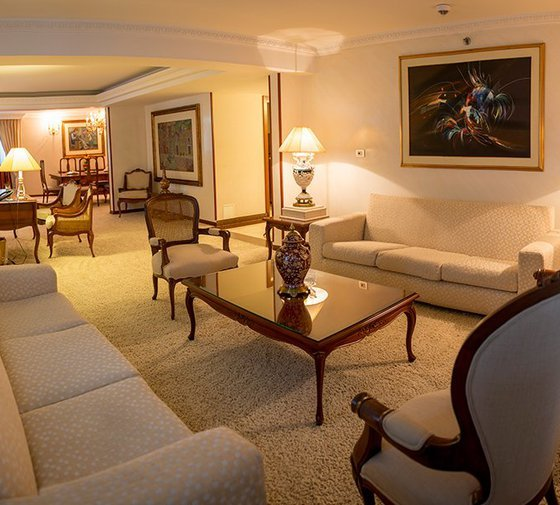 Our Presidential Suites are 217-square-metre rooms with a main bedroom ...