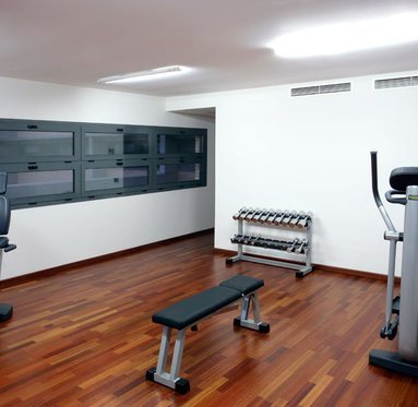 Come and enjoy the sauna and the gym
