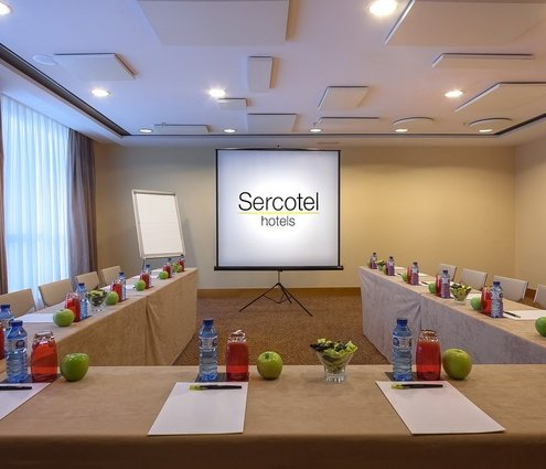 The Sercotel Sorolla Palace Hotel features the Brosquil Room. This ...