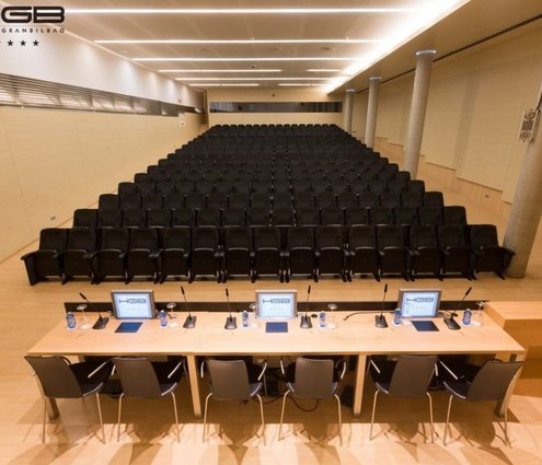 The Sercotel Gran Bilbao offers a special auditorium with a ...