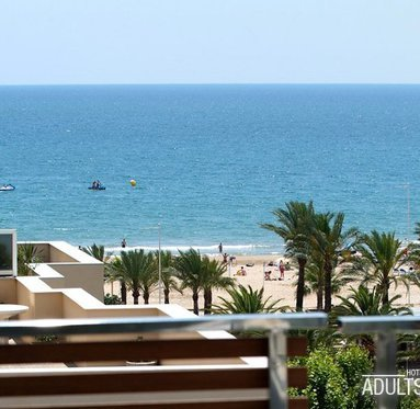 Fantastic views of the Salou beach from the room