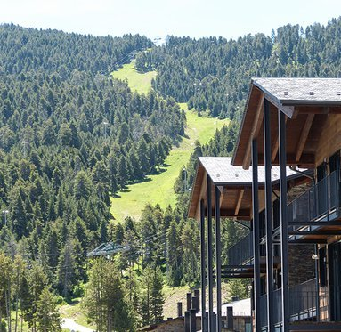 Enjoy the fabulous views of Masella 1600 Apartments in the ...