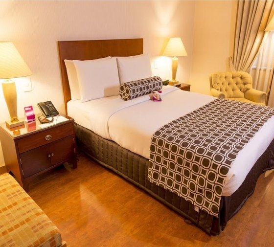 The 5-star Sercotel Tequendama Suites Hotel features well-lit executive suites ...