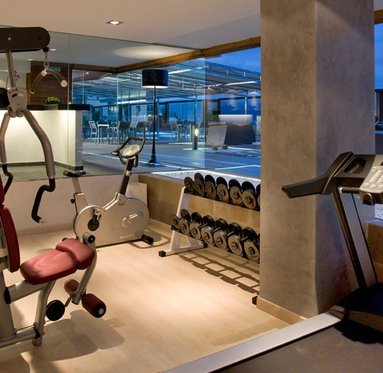 Stay in shape in the gym of our 5 star ...