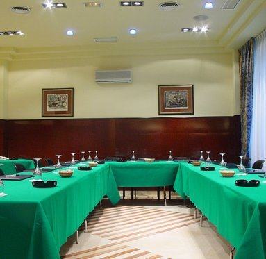 There are 5 business rooms for you to book
