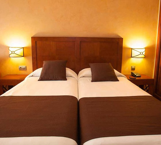 The Hotel Màgic Andorra has 29 twin rooms, with a ...