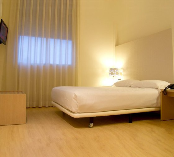 The Hotel Ciscar has adapted rooms with all necessary facilities ...