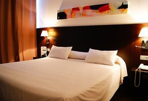The Sercotel Plana Parc  hotel has double rooms, for those ...