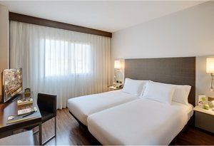 Sercotel Ciutat d'Alcoi features 32 Twin rooms, equipped with ...