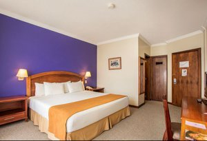 The superior room at Hotel Quito by Sercotel are ideal ...