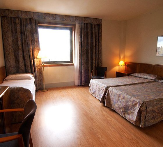At the Sercotel Domo you will find spacious triple rooms, ...