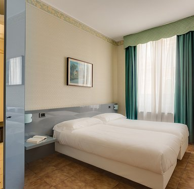 Comfort and modernity in the Sercotel Viva Milan.