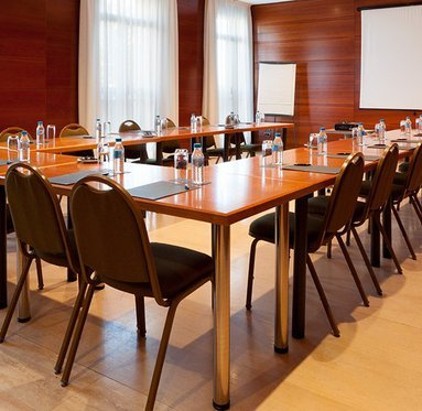 We have three function rooms of different capacities.