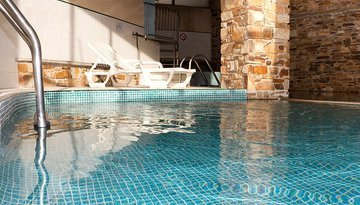 Relax in our heated pool and enjoy the peace and ...