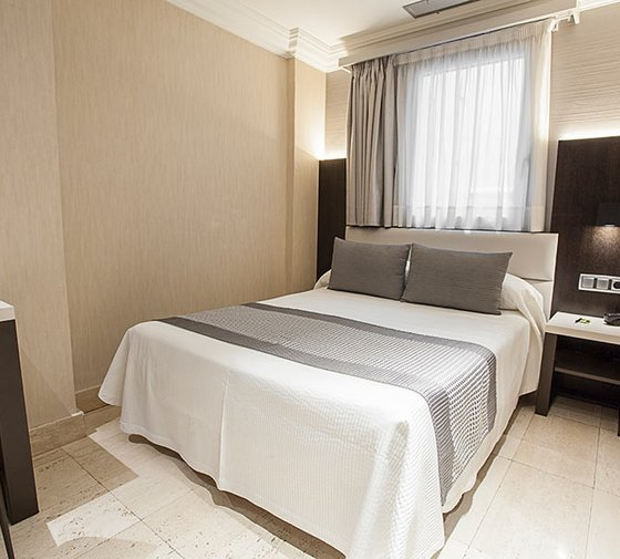 The Sercotel Europa Restaurant Hotel offers you double standard rooms ...